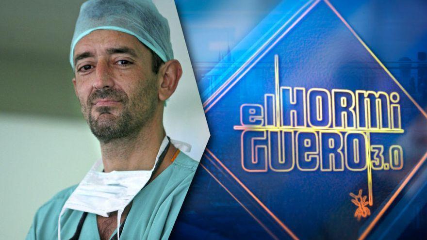 El doctor Pedro Cavadas, invitado de hoy en El Hormiguero