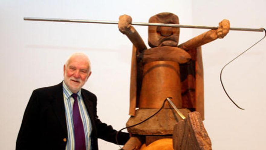 Muere el prestigioso escultor británico Anthony Caro