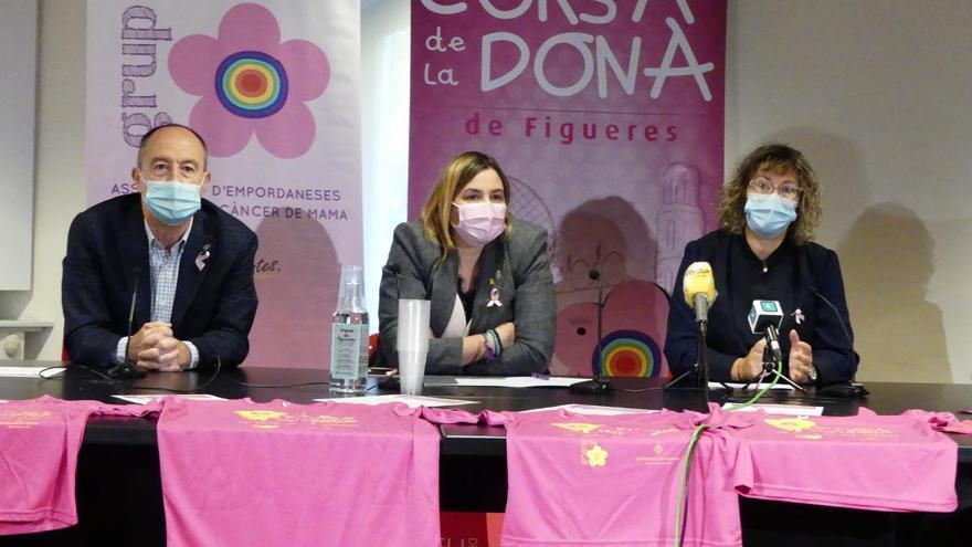 La Cursa de la Dona de Figueres manté la seva vitalitat amb canvis