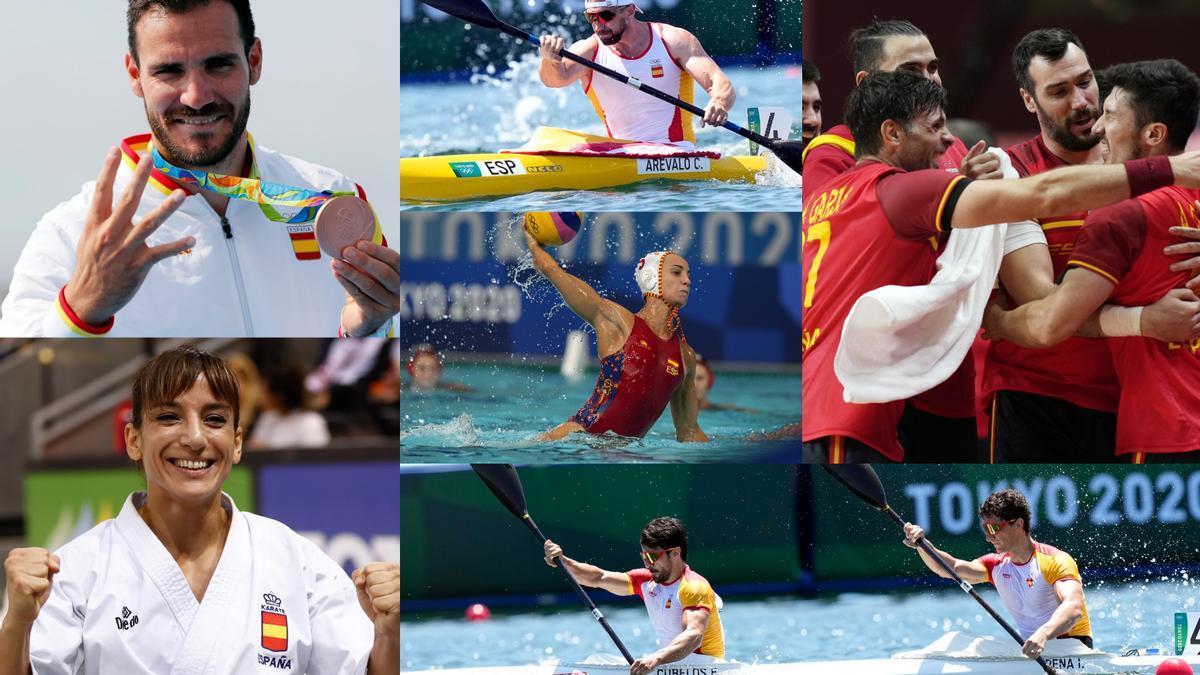 El piragüismo, el waterpolo y el balonmano pueden dar nuevas alegrías a España este jueves.