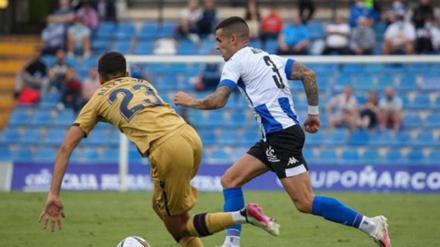 El Hércules se estrella en el Rico Pérez ante el filial del Levante (0-3)