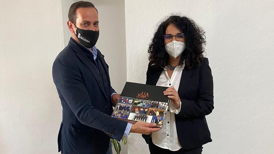 Isabel Santamaría y José Miguel Molina, nuevos directores de las Sedes Universitarias de la UA en La Marina y Cocentaina