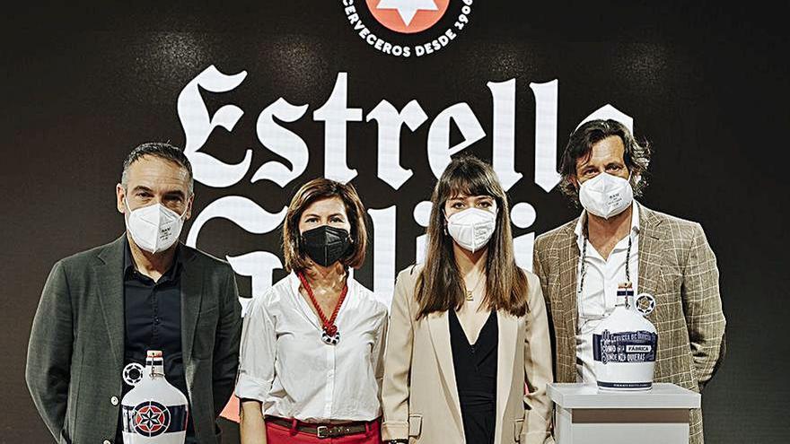 Estrella Galicia lanza una edición limitada de 'growler', diseñado por Sargadelos