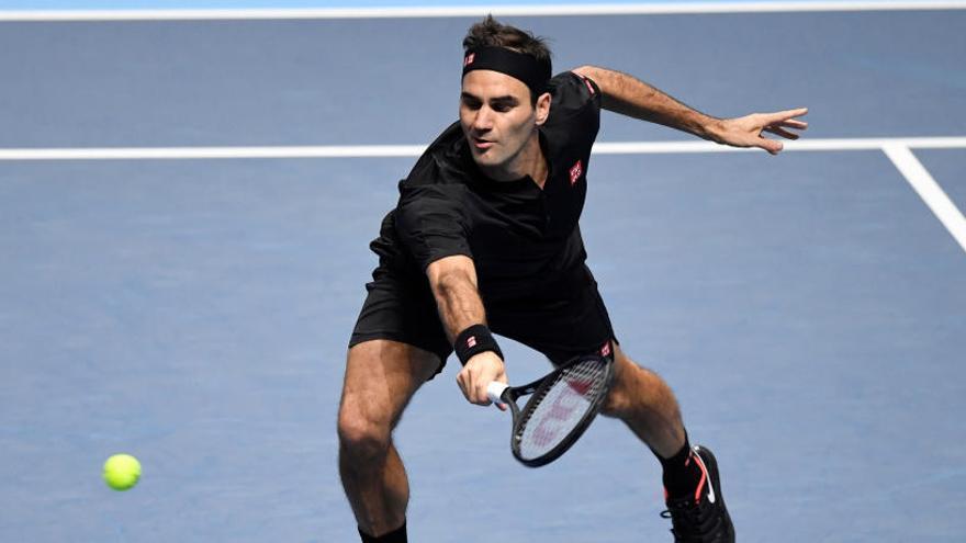 Así fue el partido Tsitsipas - Federer