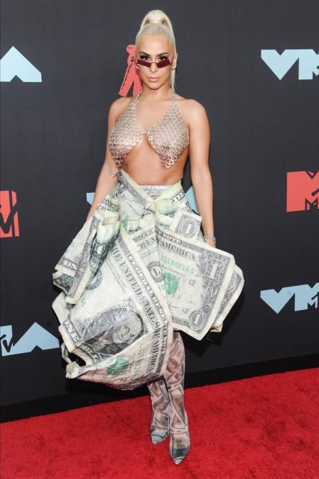 Verónica Vega, en los MTV Video Music Awards 2019