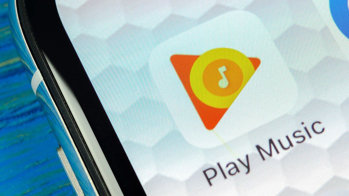 El logo de la app Google Play Música.