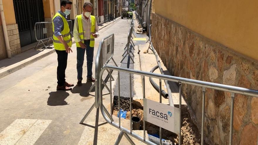 Facsa renovará en Alcalà 3 kilómetros de tubería de la red de agua potable