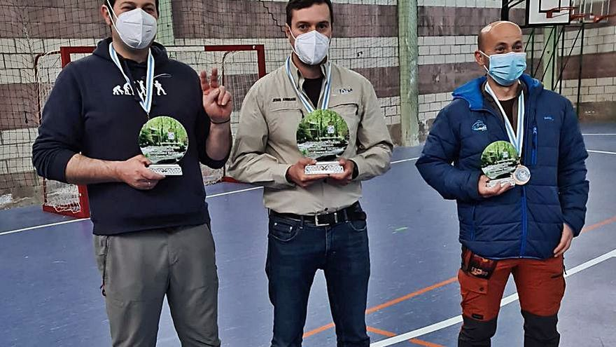 El Club Río Deza copa el podio del campeonato provincial de pesca a mosca de salmónidos