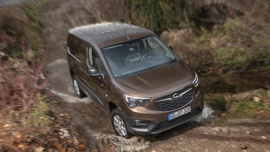 Opel Combo ahora en versión 4x4