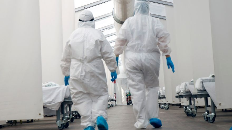 Los tres hospitales de campaña de la Comunitat Valenciana han atendido a más de 200.000 personas