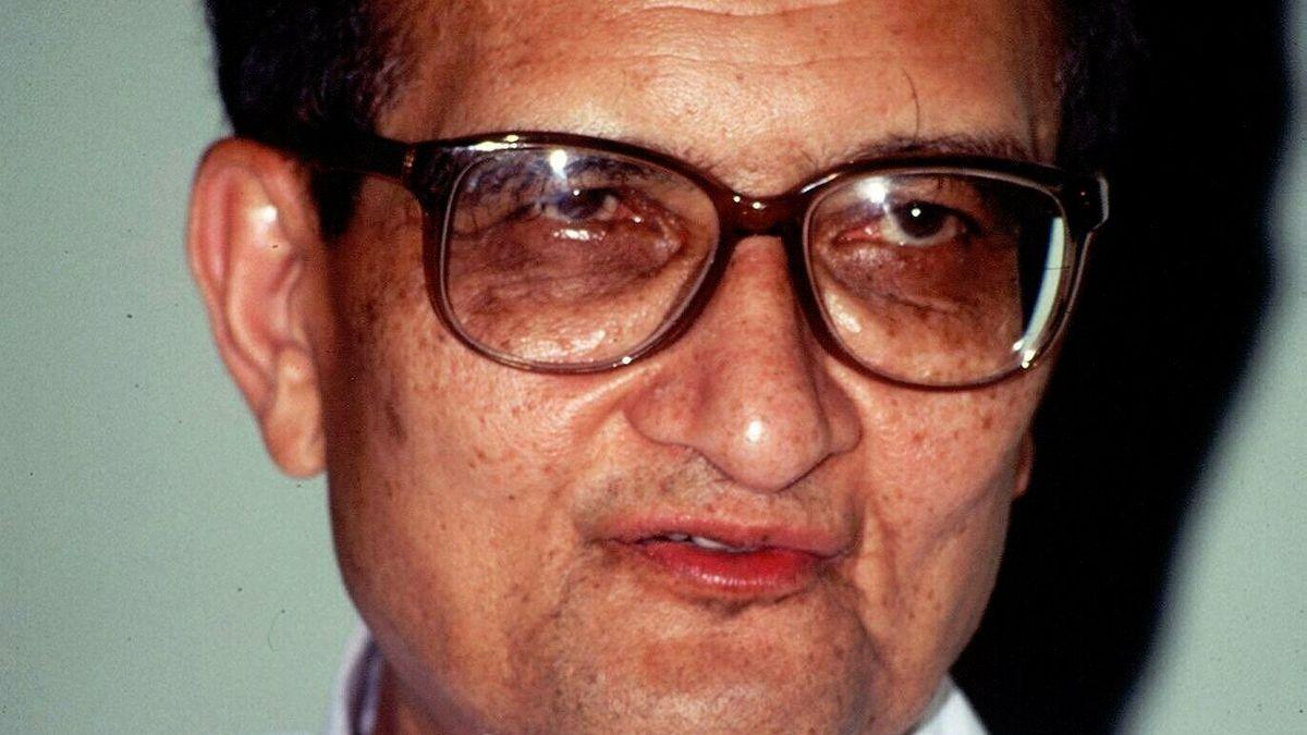 Una imagen de Amartya Sen.