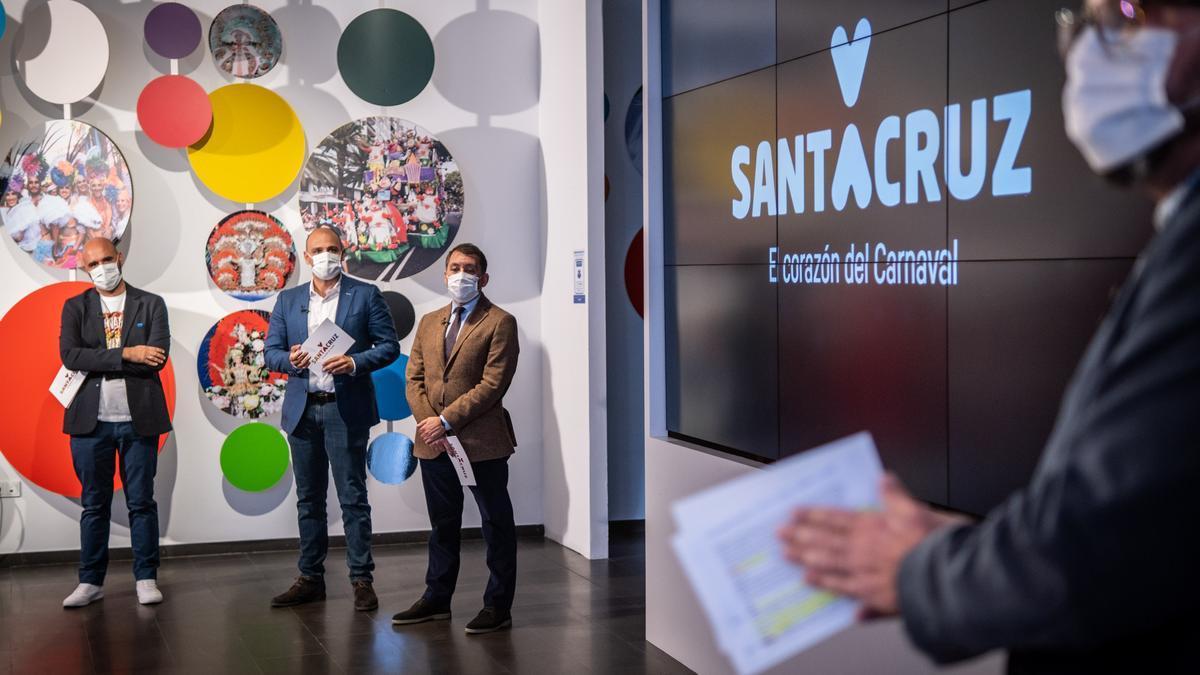 Presentación del Carnaval virtual 2021 de Santa Cruz de Tenerife