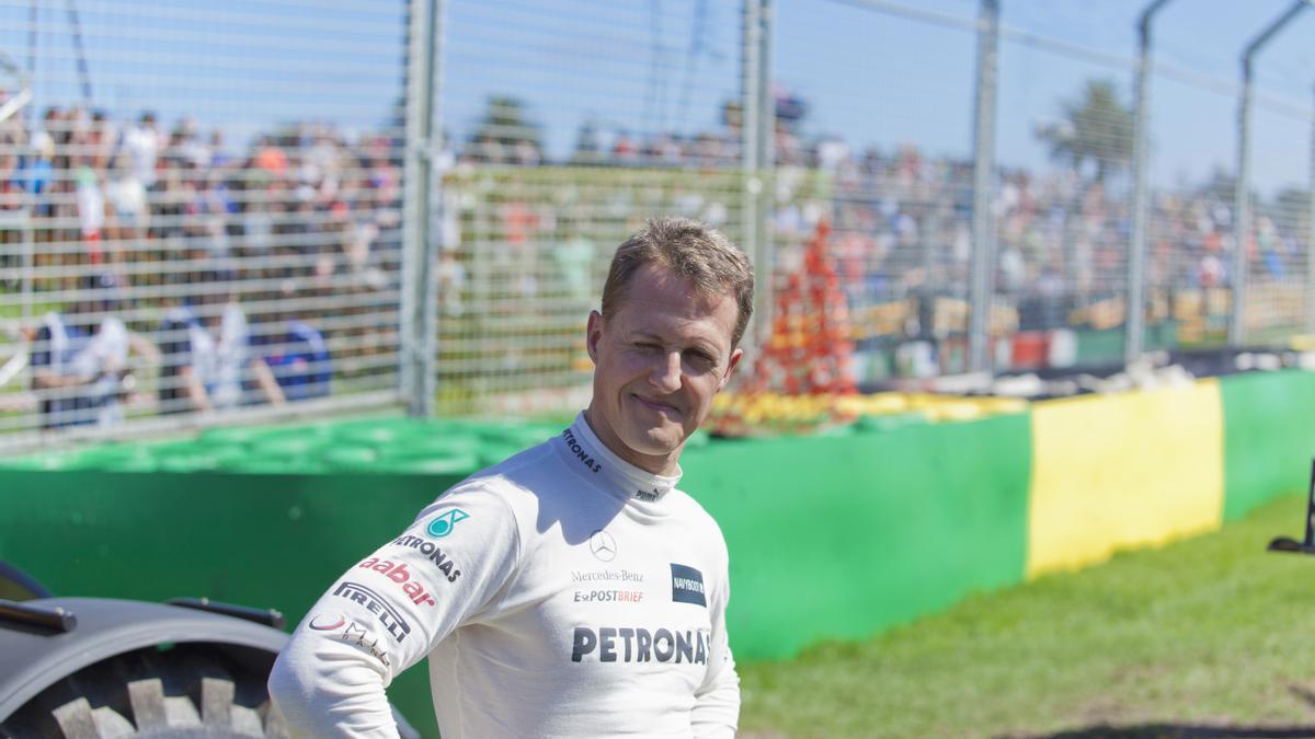 Michael Schumacher, in a file image.