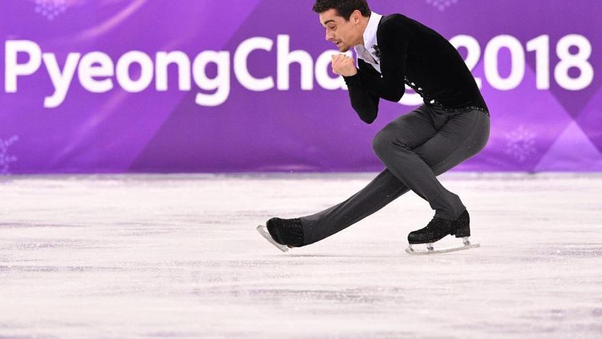 Así fue la actuación de Javier Fernández en los Juegos Olímpicos de Invierno