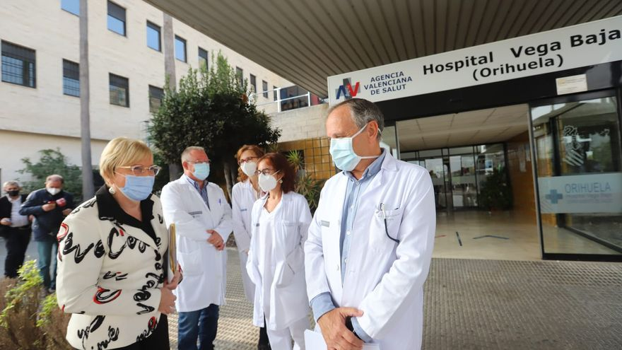 El Hospital Vega Baja tiene el 95% de las camas UCI ocupadas aunque descienden los ingresos en planta