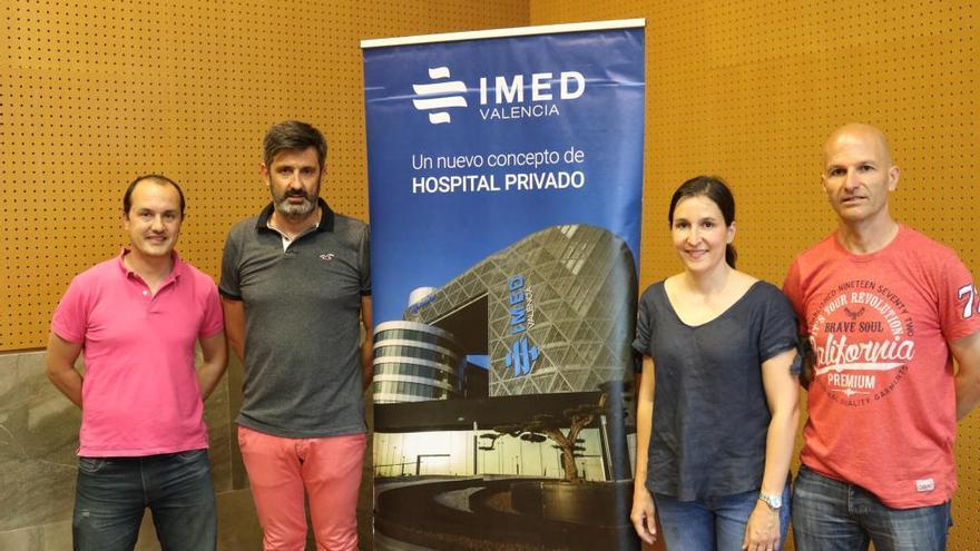 IMED Valencia forma al voluntariado de la 15K Nocturna