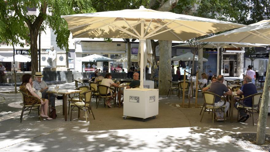 Los bares de Zaragoza no tendrán que pagar nada por sus terrazas en 2021