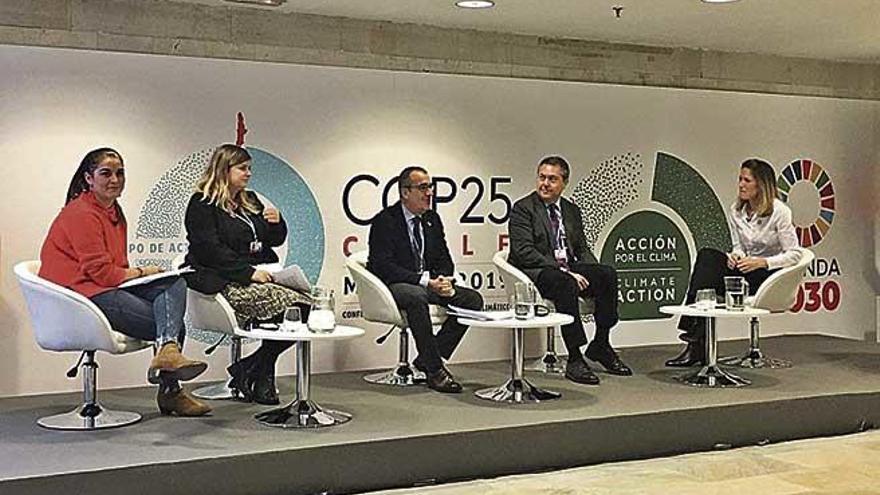 Yllanes reclama al Estado financiación para desarrollar la parte energética del REB
