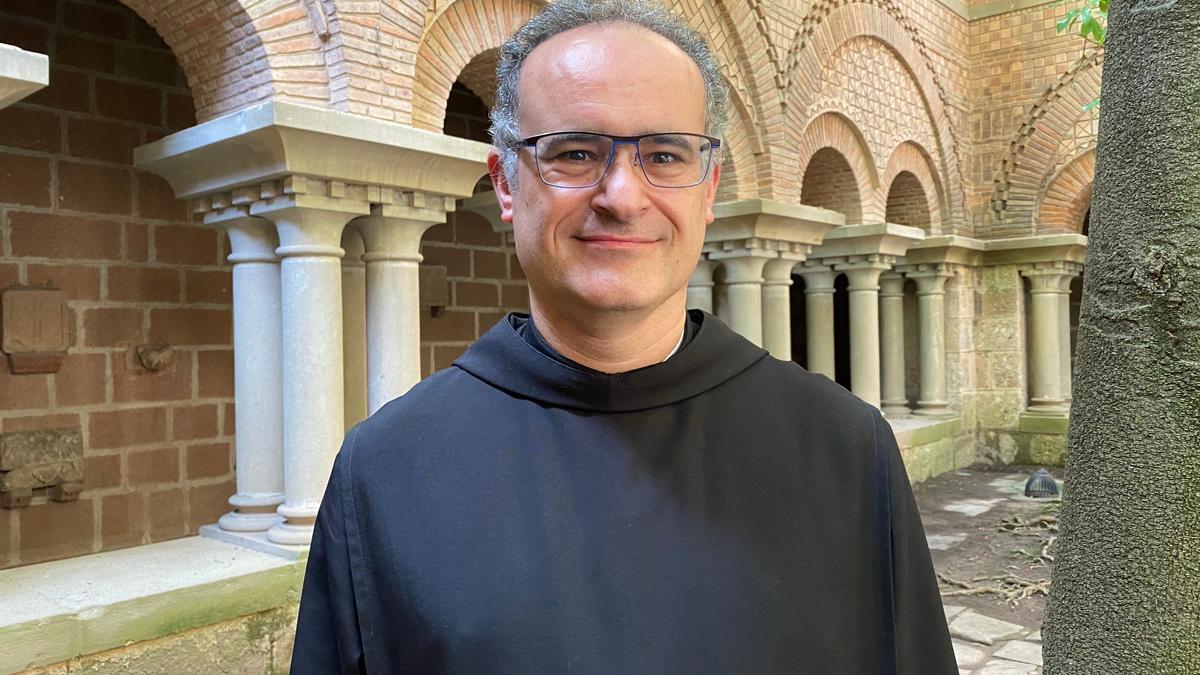 El nou abat de Montserra, el pare Manel Gasch.