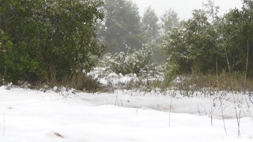 Aviso amarillo por nevadas en el Noroeste esta noche y mañana