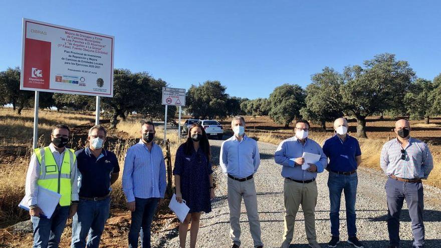 La Diputación concluye dos caminos rurales en Fuente Obejuna