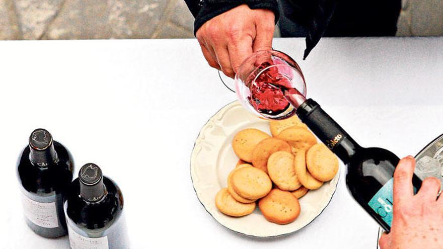 Bei welcher Weinprobe heben Sie das Glas?