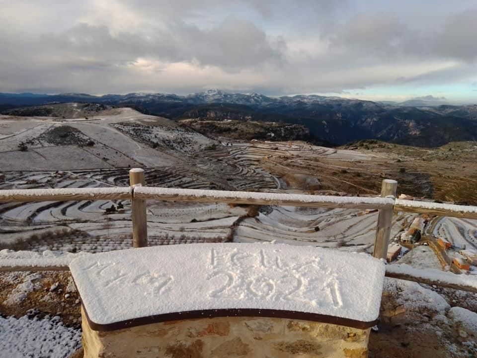 Nieve en la Comunitat Valenciana