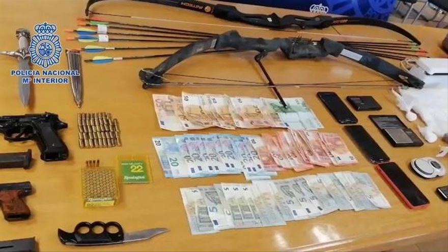 31 detenidos en una operación contra el tráfico de drogas en Galicia y Castilla y León