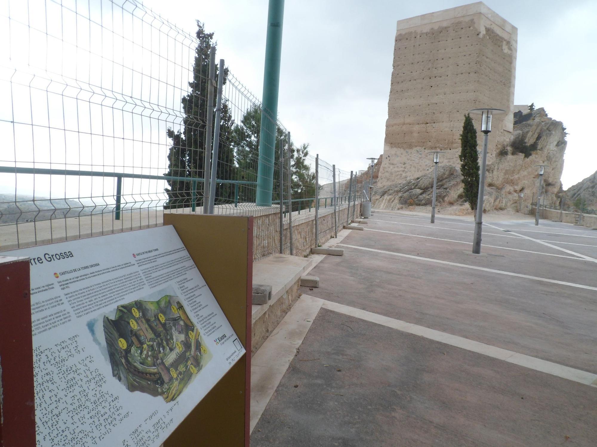 Xixona finaliza la reforma del Castillo y anuncia una segunda fase