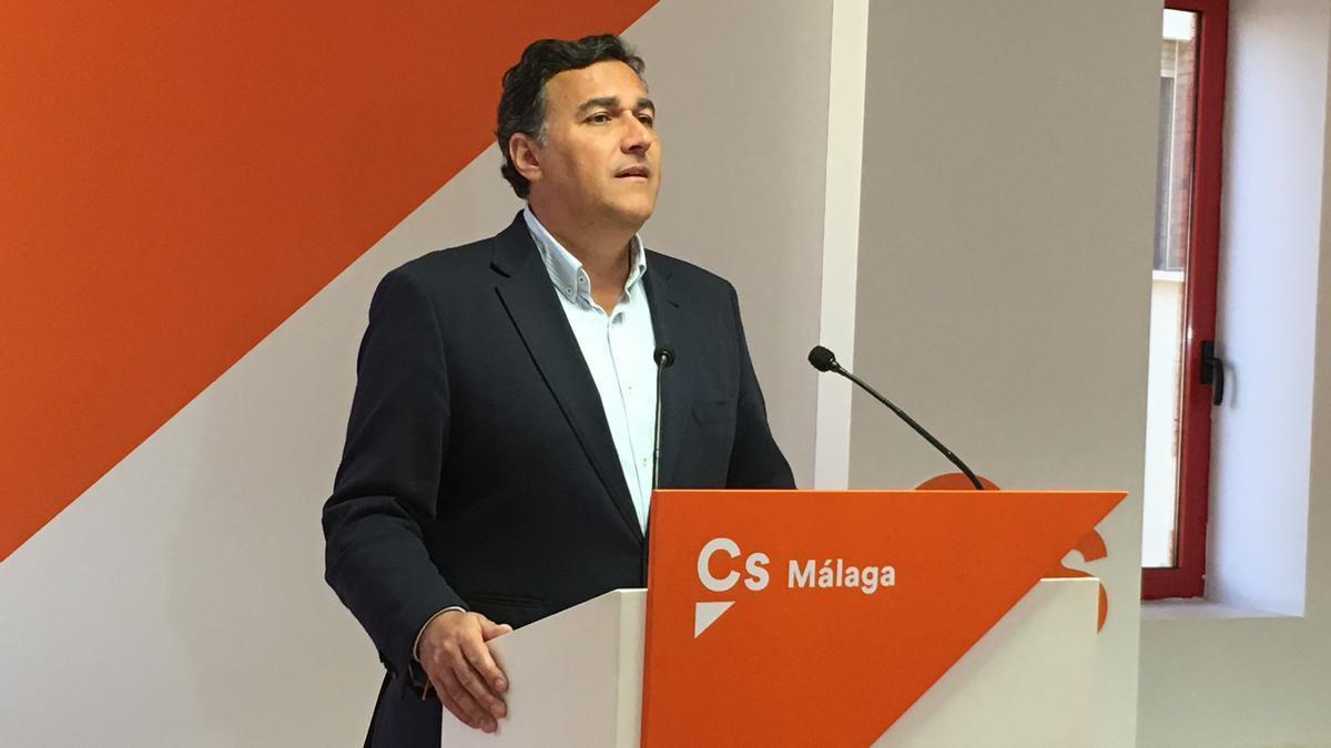 El parlamentario de Ciudadanos por Málaga Carlos Hernández White.