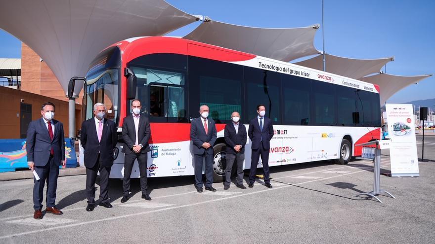 Comienza a circular por Málaga el primer autobús autónomo de gran capacidad