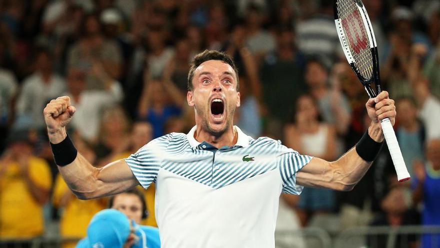 Bautista pisa fuerte en el Open de Australia
