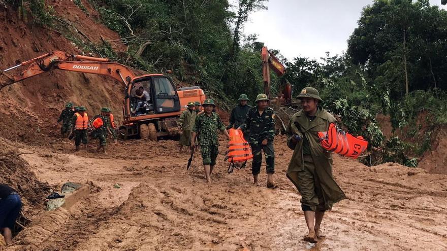 Al menos 123 muertos por las riadas en Vietnam y Camboya