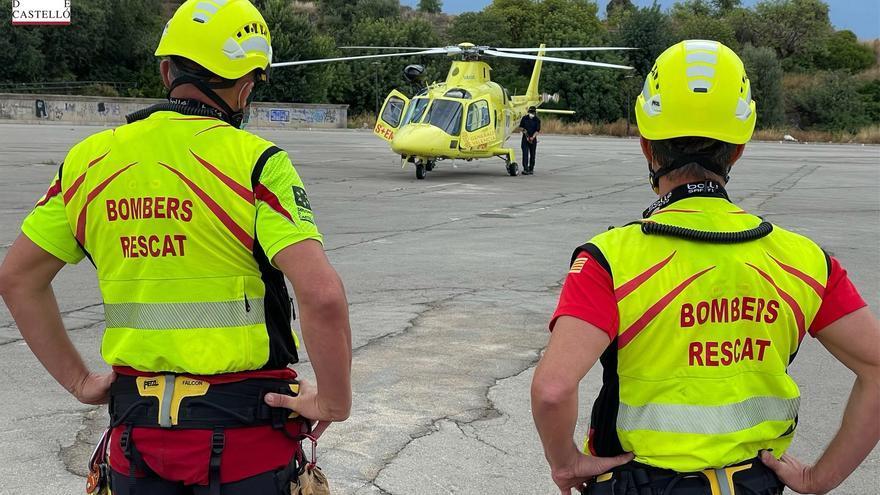 Vídeo. Un dispositivo con 130 personas busca al desaparecido de la Vall d'Uixó