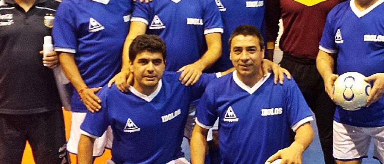 Maradona abrió la puerta de la UD a Walter Pico