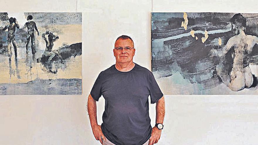 Menéndez Rojas: «Para  mí la pintura es un método de aprendizaje constante»