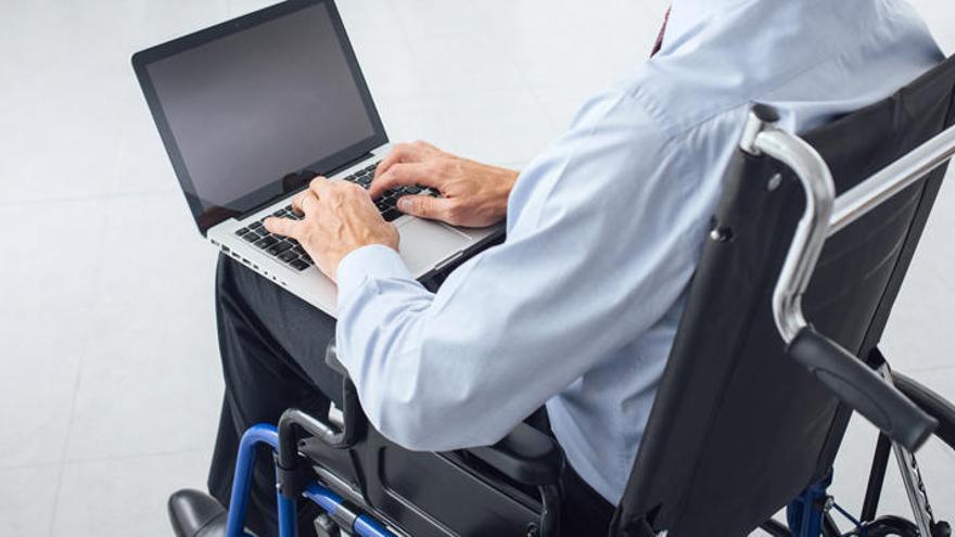 La contratación de personas con discapacidad cae un 23,5% en la Región