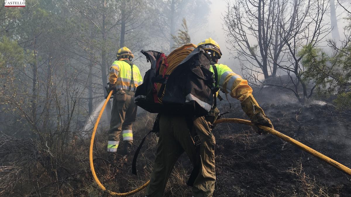 El año pasado el mayor incendio se produjo en Bejís en octubre