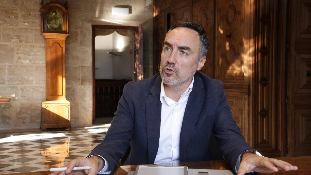 El director general de Coordinación de la Acción del Gobierno, Juan Ángel Poyatos