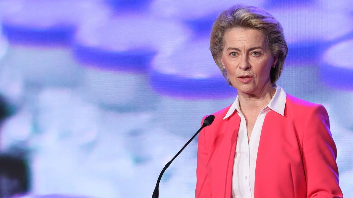 La presidenta de la CE, Ursula Von der Leyen.