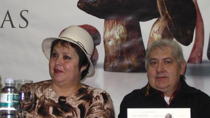 """La cocinera experta en setas Gloria Martín inaugura """"Zamora micológica"""""""