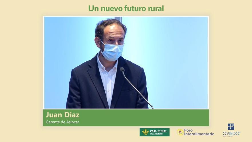 """Juan Díaz, gerente de Asincar: """"Tradición e innovación deben ir de la mano para ayudar al sector agroalimentario y al mundo rural"""""""