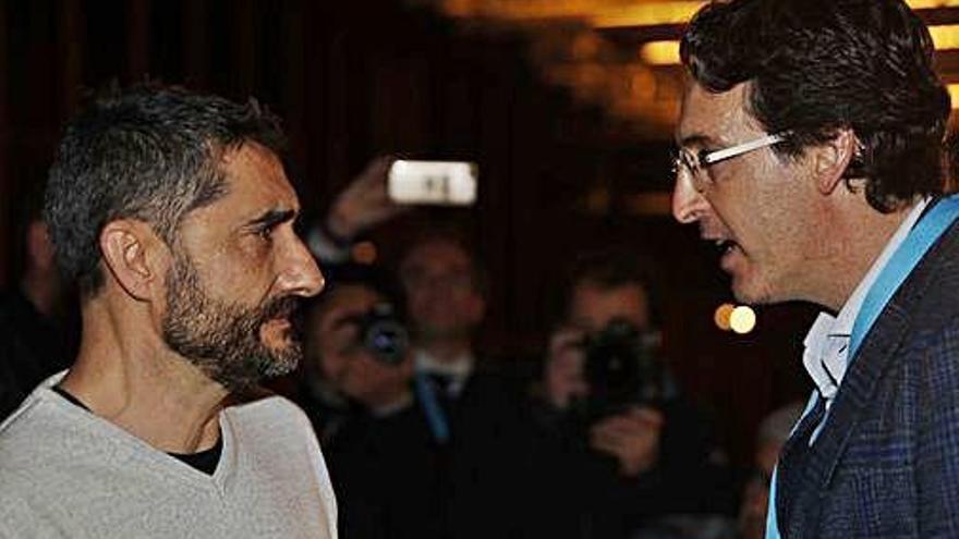Valverde reapareix i diu que ara vol «posar distància»