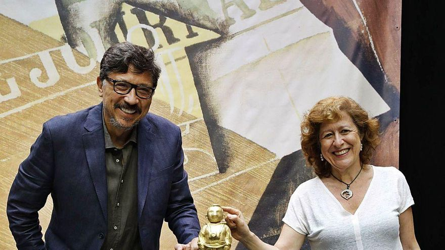 "Berna G. Harbour gana el ""Hammett"" de novela"
