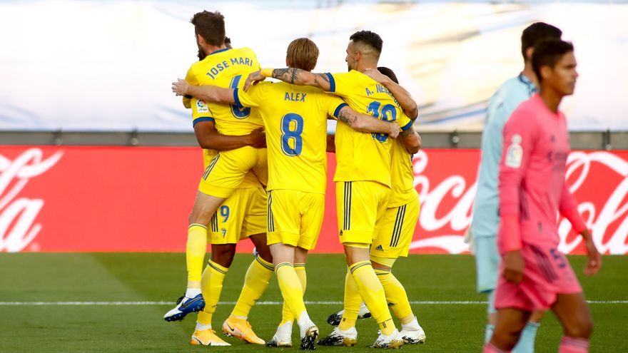El Cádiz asalta el Di Stéfano y derrota al Real Madrid