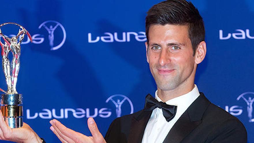 Novak Djokovic y Serena Williams, Laureus a los deportistas del año