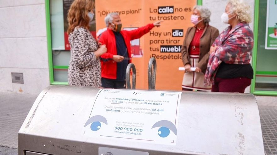 El Ayuntamiento fomenta el buen uso del servicio de recogida de muebles