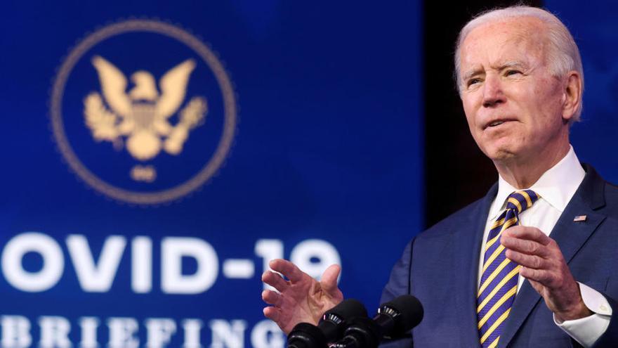 Biden busca recuperar la atención tras el terremoto del 'impeachment'
