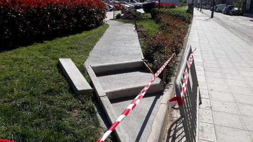 El parking de Pasarón estrena acceso a Juan Bautista Andrade