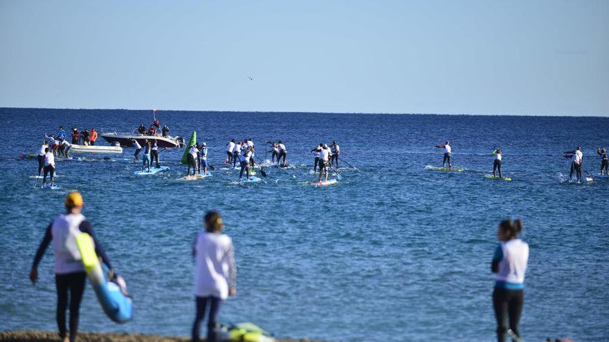 Cabo de Palos apuesta por el paddle surf